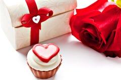 Cioccolato assortito a forma di cuore Fotografia Stock