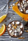 Cioccolato caldo Immagini Stock Libere da Diritti