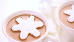 Cioccolato caldo archivi video