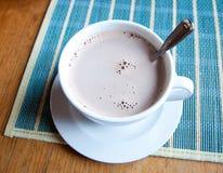 Cioccolato caldo Fotografia Stock Libera da Diritti