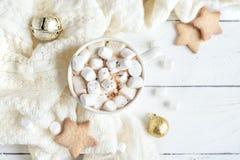 Cioccolato caldo di natale fotografia stock
