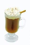 Cioccolato caldo isolato Fotografie Stock