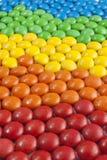 Cioccolato Candy variopinto Fotografia Stock Libera da Diritti