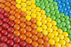 Cioccolato Candy variopinto Fotografie Stock