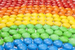 Cioccolato Candy variopinto Immagine Stock