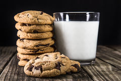Cioccolato Chip Cookies Fotografia Stock