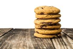 Cioccolato Chip Cookies Immagini Stock