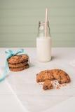 Cioccolato Chip Cookies Fotografia Stock Libera da Diritti