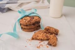 Cioccolato Chip Cookies Immagine Stock Libera da Diritti