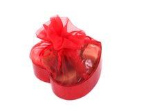Cioccolato del biglietto di S. Valentino Fotografia Stock Libera da Diritti