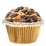 Cioccolato del bigné del muffin isolato Immagine Stock Libera da Diritti