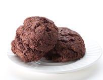 Cioccolato del biscotto Fotografie Stock Libere da Diritti