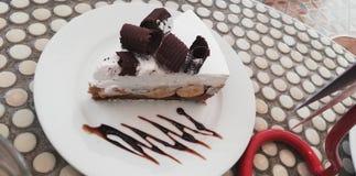Cioccolato del dolce delizioso fotografia stock