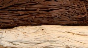 Cioccolato del fiocco Fotografia Stock Libera da Diritti