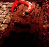 Cioccolato del peperoncino rosso Immagine Stock Libera da Diritti