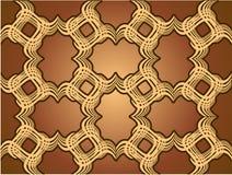 Cioccolato dell'ornamento Fotografia Stock