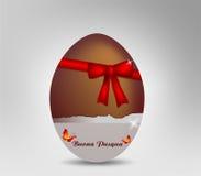 Cioccolato dell'uovo di Pasqua Immagini Stock Libere da Diritti