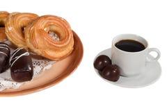 Cioccolato della caramella del dolce del biscotto Immagine Stock
