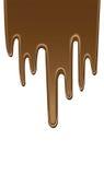 Cioccolato della sgocciolatura Immagini Stock