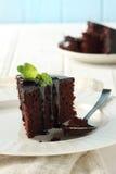 Cioccolato della torta Fotografia Stock Libera da Diritti