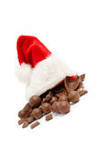 Cioccolato di natale Immagine Stock Libera da Diritti
