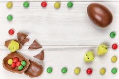 Cioccolato di Pasqua Fotografia Stock