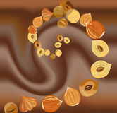 Cioccolato di vettore Illustrazione Vettoriale