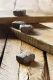 Cioccolato dorato Fotografia Stock