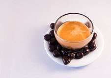 Cioccolato e caffè Immagini Stock Libere da Diritti