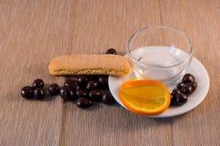Cioccolato e caffè Immagini Stock