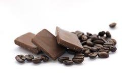 Cioccolato e caffè Fotografia Stock Libera da Diritti