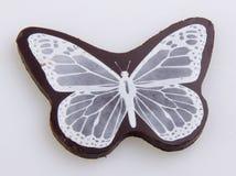 Cioccolato etichette del cioccolato su fondo Immagine Stock