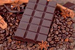 Cioccolato fondente Immagini Stock