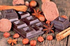 Cioccolato fondente Immagine Stock