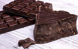Cioccolato fondente Fotografia Stock