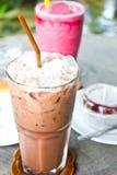 Cioccolato freddo Fotografia Stock Libera da Diritti