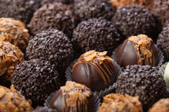 Cioccolato Handmade Fotografia Stock