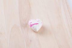 Cioccolato isolato del cuore Immagine Stock