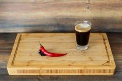 Cioccolato maya dei peperoncini rossi Fotografia Stock Libera da Diritti
