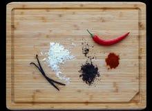 Cioccolato maya dei peperoncini rossi Fotografia Stock
