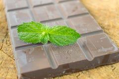 Cioccolato naturale Immagini Stock Libere da Diritti