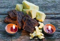 Cioccolato naturale Fotografie Stock
