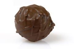 Cioccolato nero dello svizzero del tartufo Immagine Stock