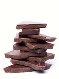 Cioccolato scuro Fotografie Stock Libere da Diritti