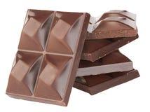 Cioccolato scuro Fotografie Stock