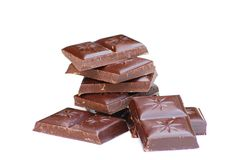 Cioccolato scuro Immagini Stock Libere da Diritti