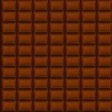 Cioccolato senza cuciture di struttura Immagine Stock