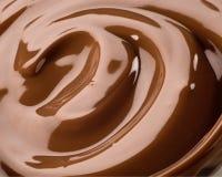 Cioccolato serico Fotografie Stock