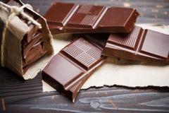 Cioccolato squisito immagine stock