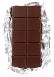 Cioccolato su una stagnola Fotografia Stock
